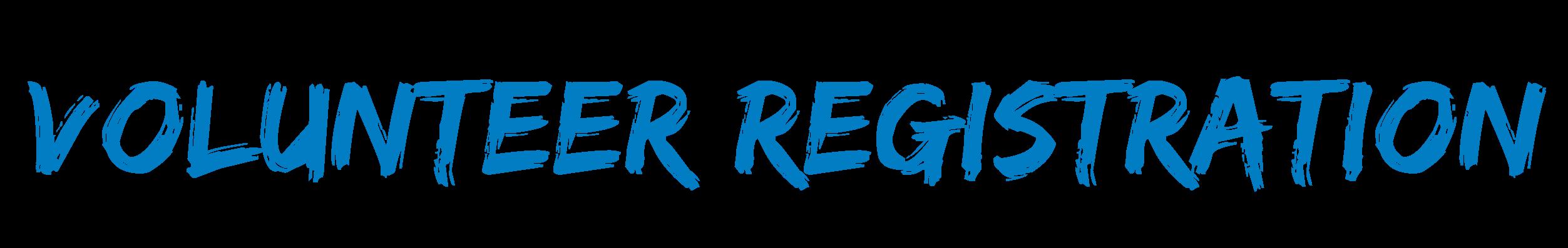 Volunteer Registration